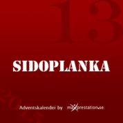 Lucka 13 – Sidoplanka