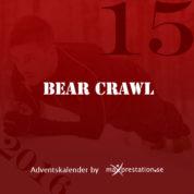 Lucka 15 – Bear Crawl