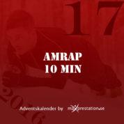 Lucka 17 – AMRAP 10 min